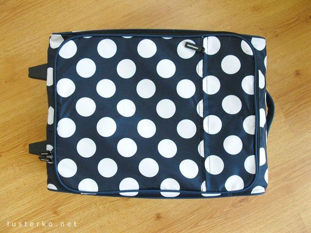 4e529a506dda9 Punkt pierwszy - walizka. To dość oczywiste, ale - tak jak wspomniałam - na  początku brałam zwykłą torbę sportową, która sama w sobie jest co prawda  lżejsza ...