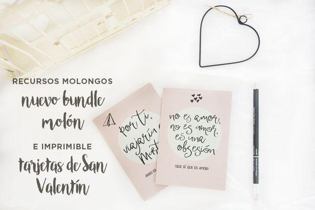 nuevo bundle y tarjetas molonas para San Valentín   Milowcostblog ...