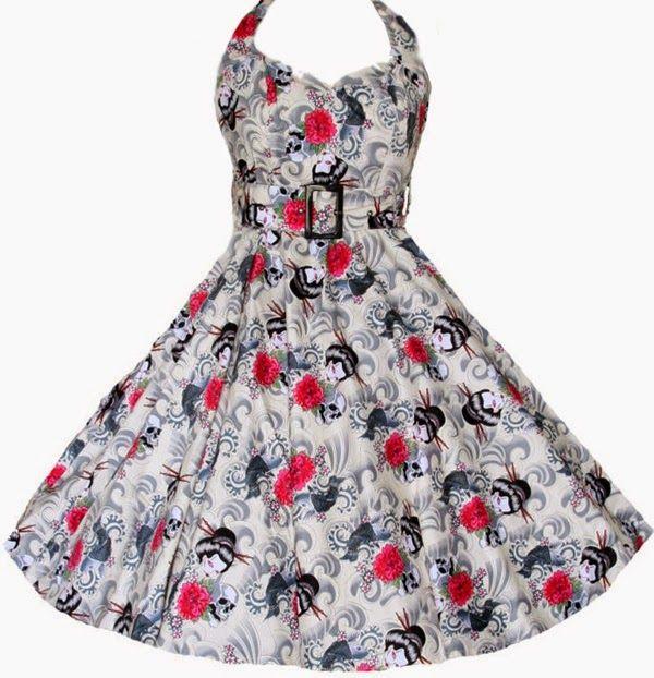 Patrón gratis: vestido de fiesta estilo \