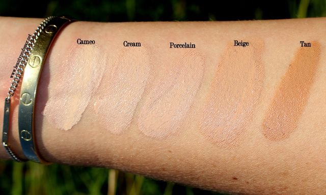 Zelens Age Control Foundation Review Swatches Of Every