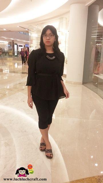 Fashion  Elegant Black Casual Outfit Style - Hi~! It s me Inge Lakawa using  my sister de2146cbf1