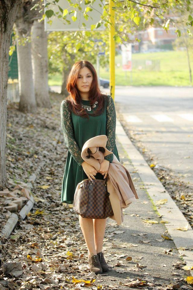 Shopping Only verde Capelli in collana abito e gioiello rosso 8nfwp