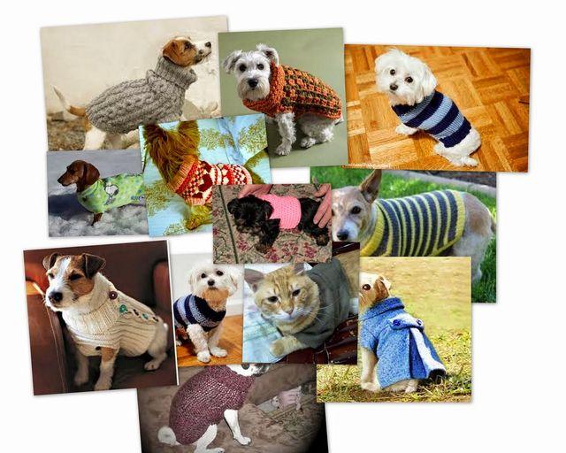 DIY: Abrigo para mascotas. Ideas, patrón y tutorial | contra la ...