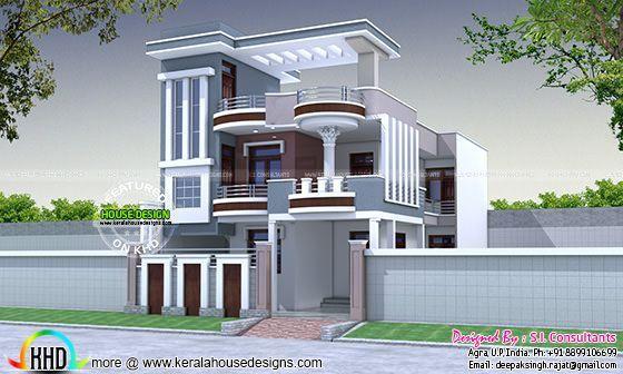 30x60 modern decorative house plan kerala home design for 100 floors floor 60