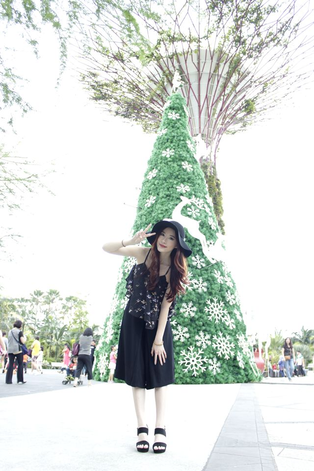 Green christmas at gardens by the bay singapore elle and jess okay then thats all for today thanks a lot for reading and see you guys on our next post have a lovely christmas everyone stopboris Image collections