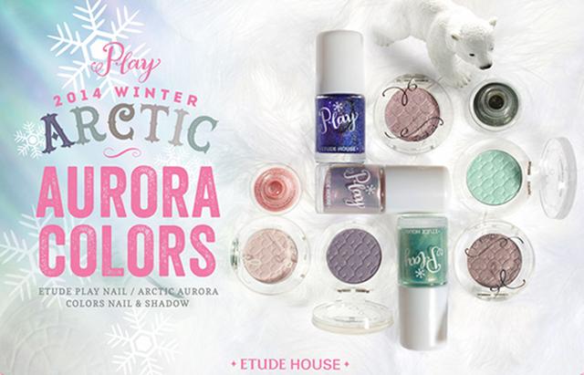 Etude House Play Nail Arctic Aurora Colors + Christmas