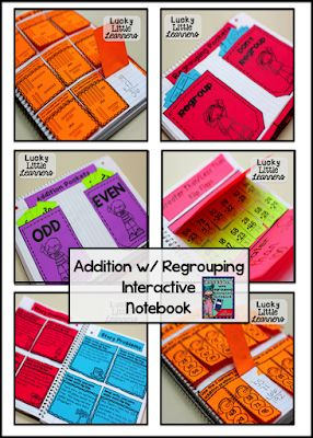 Addition with Regrouping Strategies   Mrs  Olson's Lucky