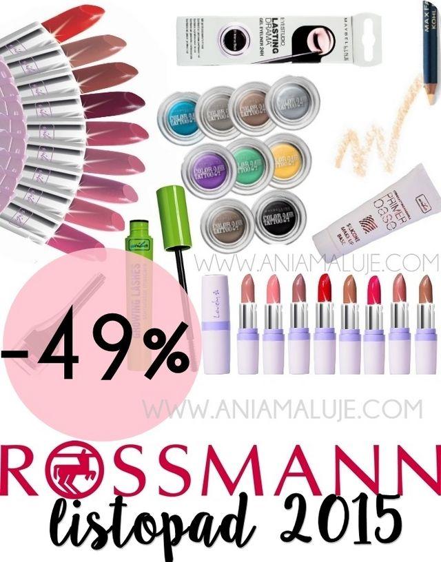 49 Rossmann Listopad 2015 Co I Kiedy W Promocji Oficjalne