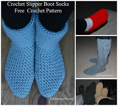 Crochet Slipper Boots A Free Crochet Pattern How To Crochet Slipper