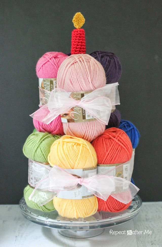 How Many Skeins Are In A Cake