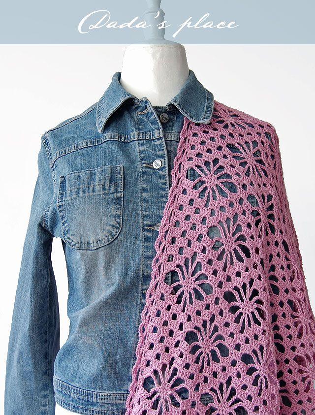 Japanese Lacy Crochet Shawl Dadas Place Bloglovin