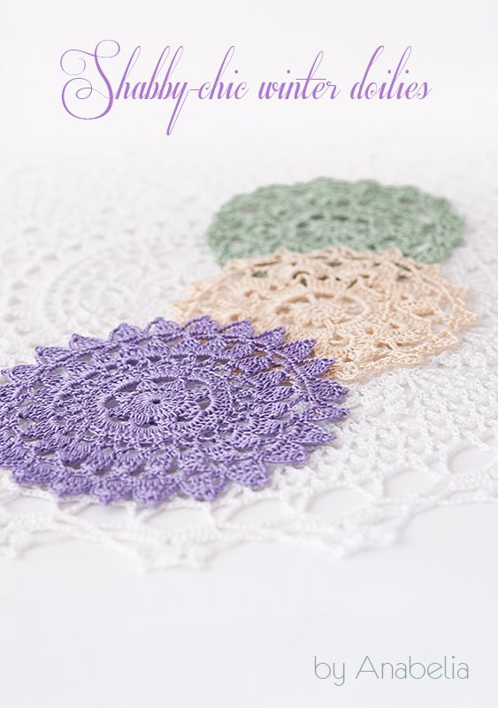 Shabby-chic inspiration crochet doilies at home this season ...