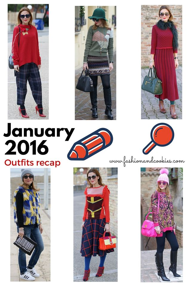 hot sale online 574c6 0a983 January 2016: fashion blogger outfits recap | Fashion and ...