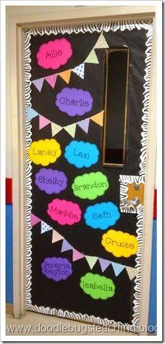 Classroom door decor ideas erica 39 s ed ventures bloglovin for Idea door yw
