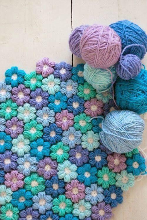 Lieve Bloemetjes Haken Cute Little Crochet Flowers Bees And