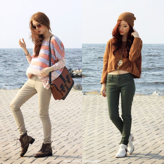 Airport Outfit Feat Uniqlo Ultra Stretch Jeans Elle And Jess