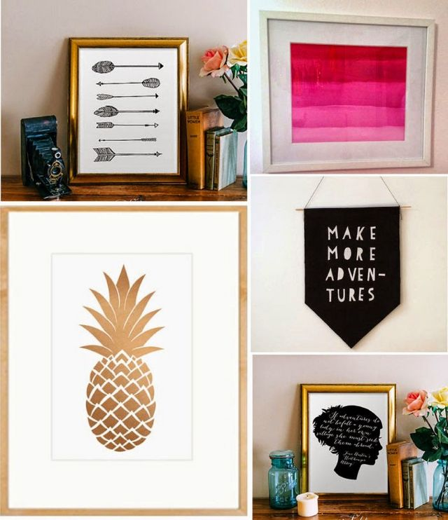 Diy Wall Decor Art: 10 Rad DIY Art Ideas For Your Walls (From Printables To