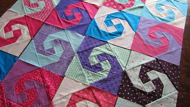 Snail Trail Quilt For Joy Circle Our Busy Little Bunch Bloglovin