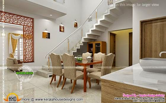 Here Are Some Beautiful Sober Colored Interior Design Ideas For Your Dining Room Designed By Inspire Infinity Alappuzha Kerala