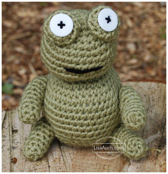 Mini Frog PDF Amigurumi Crochet Pattern - Little Bear Crochets | 661x640