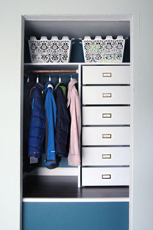 Closing Off The Coat Closet From Bi Fold Door To Hinged