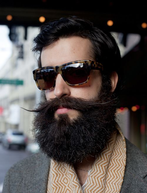 7c4e8bcaf6 After noticing that every guy at Milk Studios had a beard last November