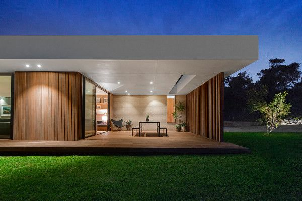 A Wood and Glass Holiday House in Australia | Design Milk | Bloglovin\'