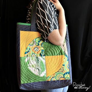 free pattern day tote bags quilt inspiration bloglovin. Black Bedroom Furniture Sets. Home Design Ideas