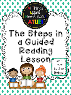 Getting started with guided reading all things upper for 51090 text