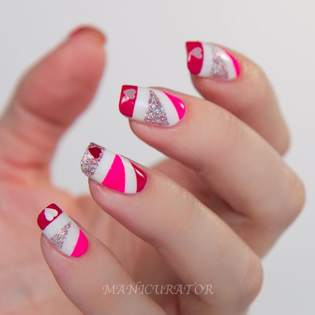 Color Club Love Tahiry Scented Collection Valentines Simple Nail