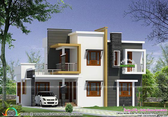 Box Type Modern House Plan Kerala Home Design Bloglovin