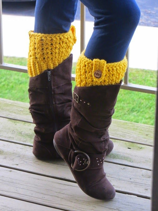 Bailey boot cuffs free crochet pattern crochet dreamz for Crochet crafts that sell well