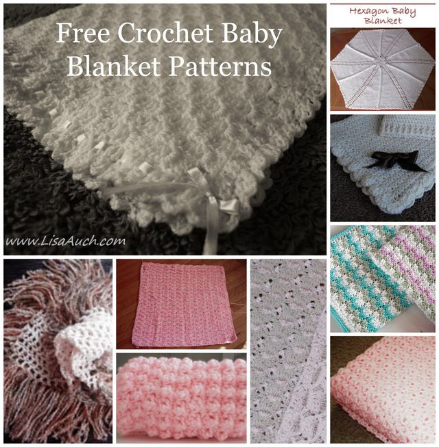 10 Free Crochet Patterns For Baby Blankets Baby Afghan Crochet