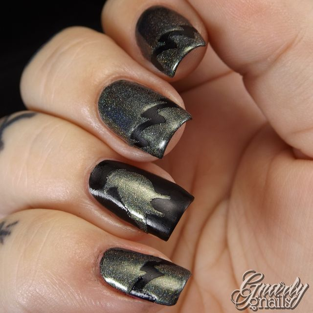Pretty Jelly & Sticky Nails Maleficent Duo Review | Gnarly Gnails ...