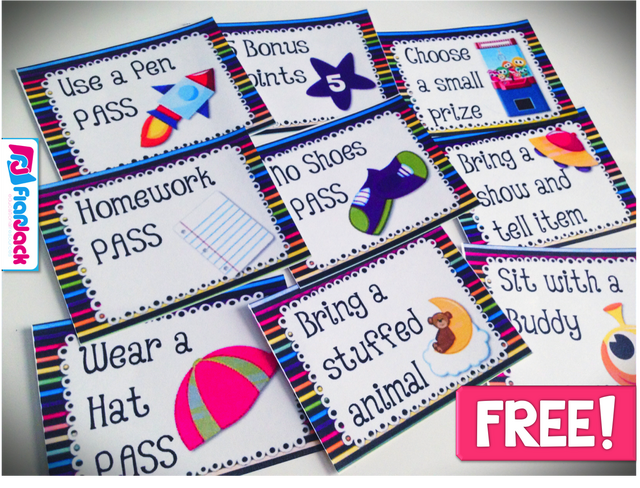 Free Classroom Decoration Resources : Space behavior coupons freebie ideas classroom decor