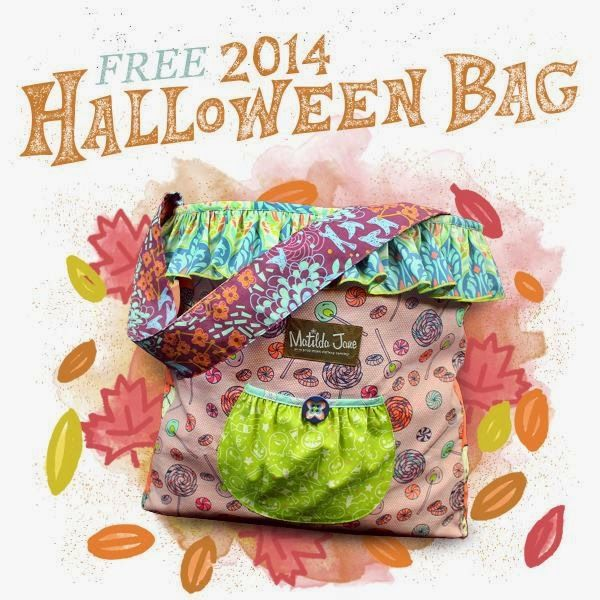 8909f749e0f Matilda Jane is running a special promotion this week - when you spend  150  (pre tax and shipping) you get a FREE Halloween Joey Bag! These are tote bag  ...