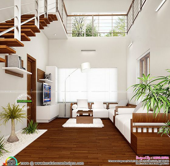 Home Interior Designs By I Nova Infra: New Classical Interior Works At Trivandrum