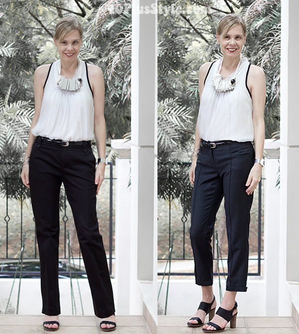 how to wear ankle boots with capris
