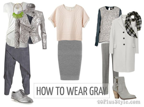 5b0f70f34b How to wear gray  color palettes and ensembles for you to choose from!