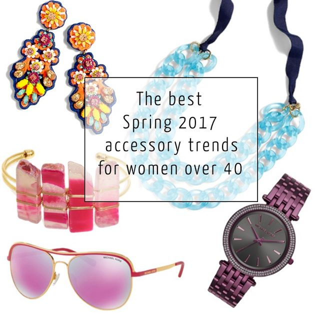 ac8c1fe995e8e The best Spring 2017 accessory trends for women over 40 | 40+ Style ...