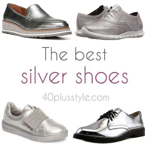 c4703c3eaec1e The best silver shoes for a hipper and more youthful look!