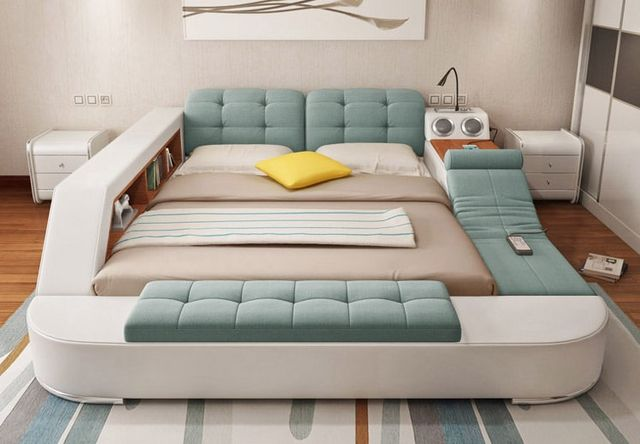 Multifunctional Bed Designed As The Ultimate Adult
