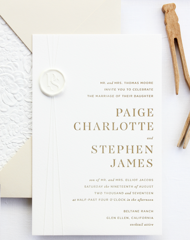 From Alana This Invitation Suite Was Designed To Focus On Modern Typography And A Warm Neutral Color Palette We Wanted The Have Very Clean