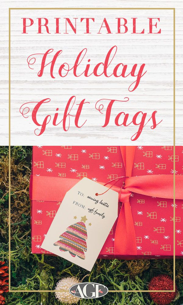 6a49d19b73 Over the years, it's been a holiday tradition here at AGF to share cute  holidays gift tags for you to make your gifts extra pretty!