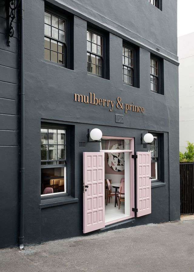 Mulberry prince restaurant in cape town by atelier for Shops exterior design