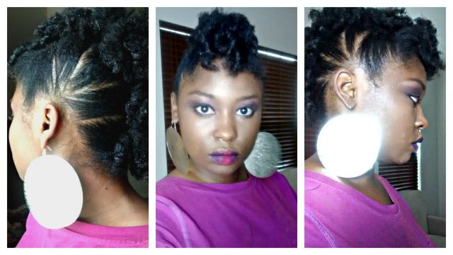 6 Styles For Long Or Short 4B/4C Natural Hair