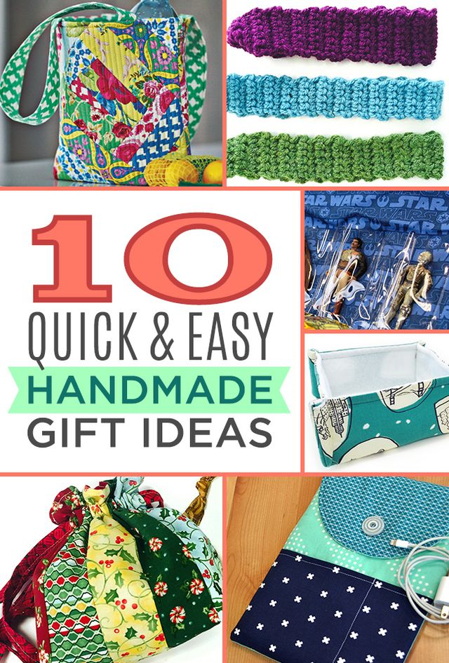 10 Quick And Easy Handmade Gift Ideas The Cutting Table Quilt
