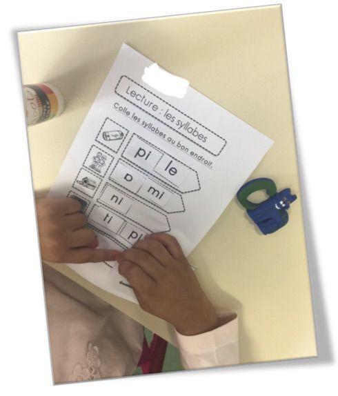 CP : Ateliers et exercice « Associer des syllabes » | Bout de gomme | Bloglovin'