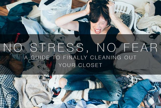 The no stress guide to cleaning out your closet the mom - Cleaning out your closet ...