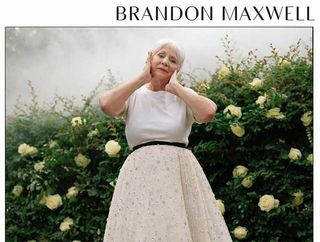 a4f15486209b The post Brandon Maxwell s 81-Year-Old Mammaw Is the Star of His Fall 2018  Ad Campaign appeared first on theFashionSpot.